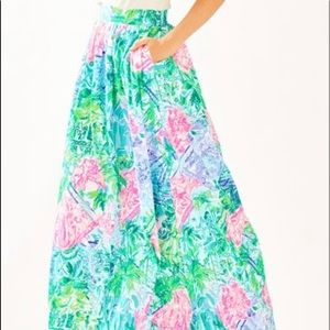 BNWT Size 10 Lilly Pulitzer Bohemian Queen Skirt